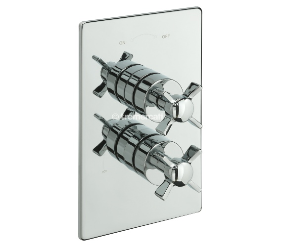 Tre Mercati Imperial Concealed Thermostatic Shower Valve With 2 Way Diverter