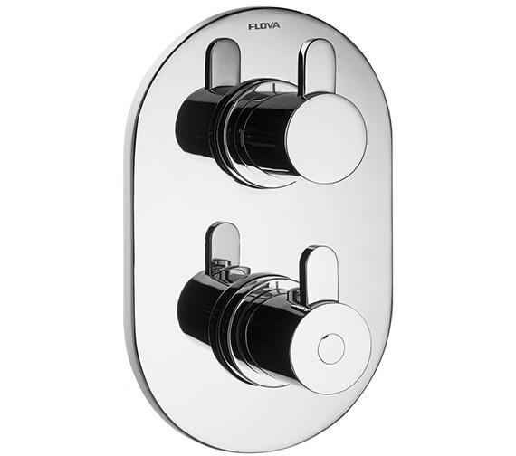 Flova Smart Concealed Thermostatic Shower Valve With 3 Way Diverter
