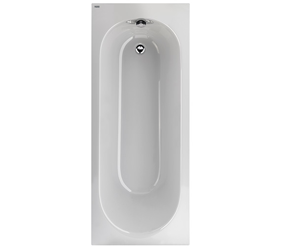 Twyford Opal Plain Acrylic Bath 1700 x 700mm - No Tap Hole 130 Litres