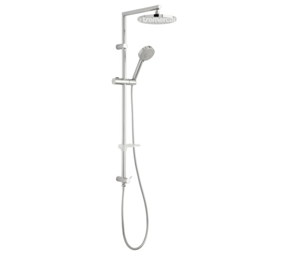 Tre Mercati Poppy Shower Pole With Multi Function Handset For Concealed Valves