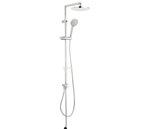 Tre Mercati Poppy Shower Pole With Multi Function Handset - 50837
