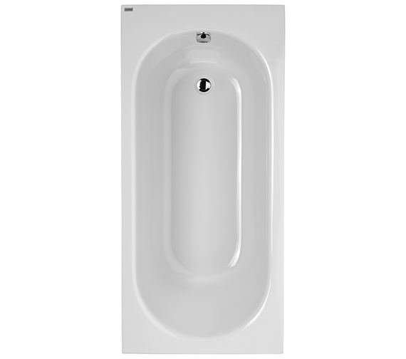 Twyford Opal 1500 x 700mm Plain No Tap Hole Acrylic Bath