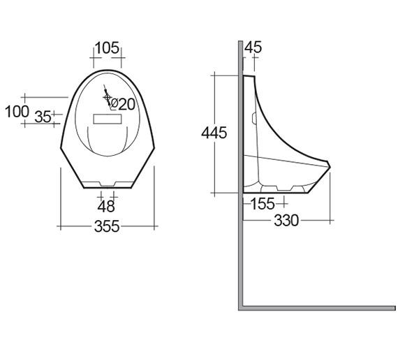 Technical drawing QS-V10057 / JAZIRAURI