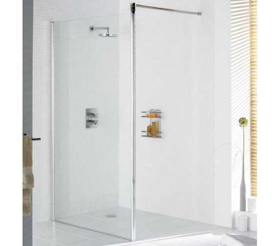 Lakes Classic Walk In Shower Screen 750mm