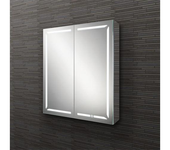 Hib Groove Led Demisting Bluetooth Mirror Cabinet 60 80