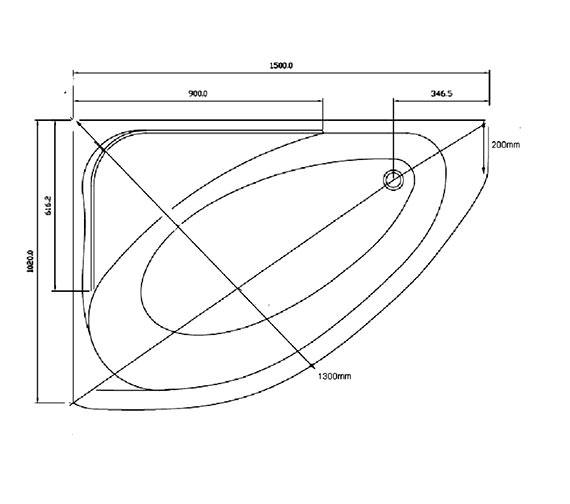 Technical drawing QS-V81393 / BH032
