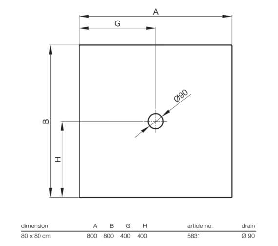 Technical drawing QS-V63729 / 5831 000