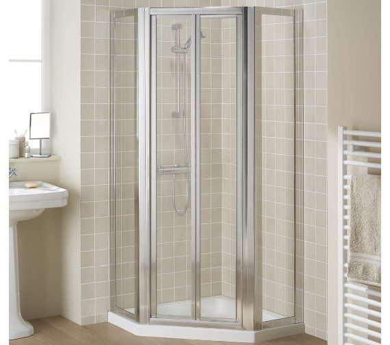 Lakes Classic Pentagon Side Panels For Bi-fold Or Pivot Door
