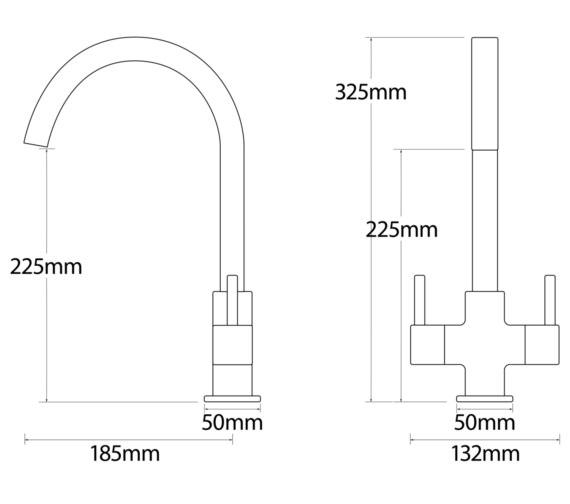 Technical drawing QS-V81035 / 90080