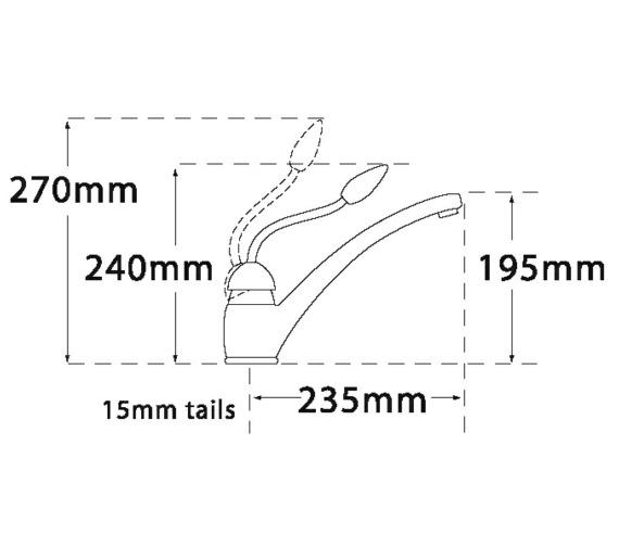 Technical drawing QS-V31678 / 230