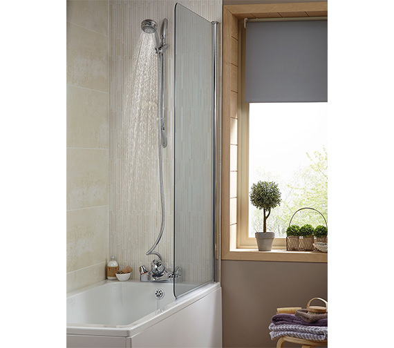 Additional image of Aqualisa Aquamixa Thermostatic Bath Shower Mixer Tap - Gravity/Main Fed