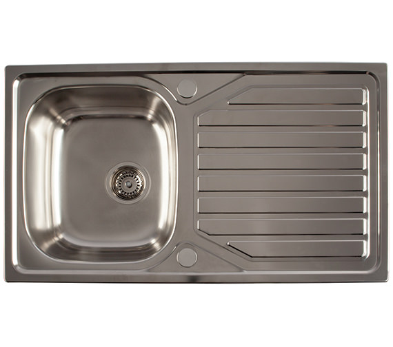 1810 Company Veloreuno 860i 1.0 Bowl Kitchen Sink And Drainer