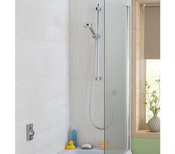 Aqualisa Visage Concealed Digital Divert Shower And Bath Fill - Gravity Pumped