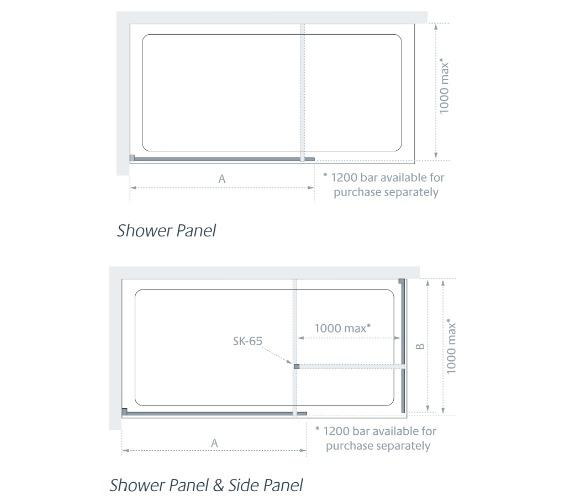 Technical drawing QS-V83875 / LK810-110S