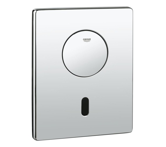 Grohe Tectron Skate Infra Red Electronic Chrome Flush Plate