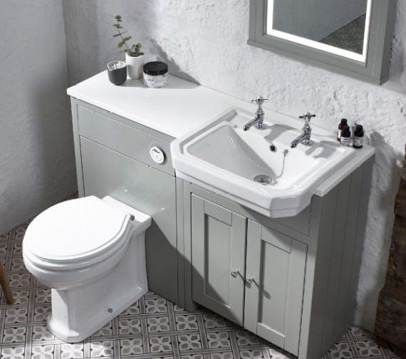 Tavistock Vitoria Comfortable Back To Wall WC Pan