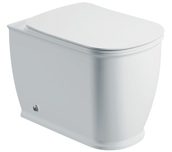 IMEX Liberty Back-To-Wall WC Bowl And Slow Close Seat 540mm