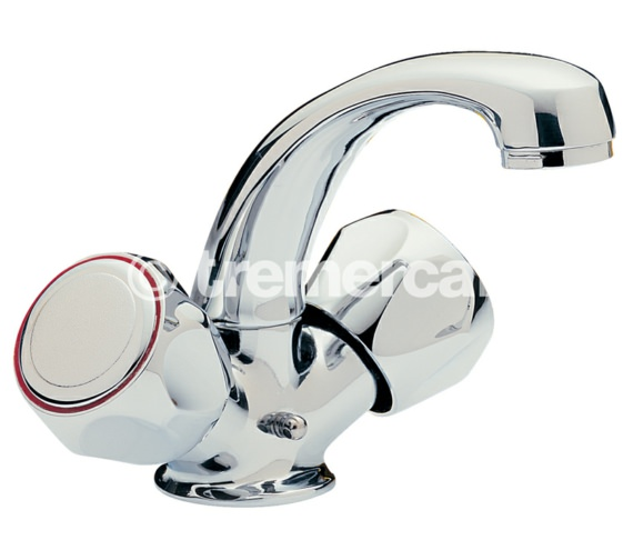 Tre Mercati Capri Single Flow Mono Basin Mixer Tap With Mazak Head