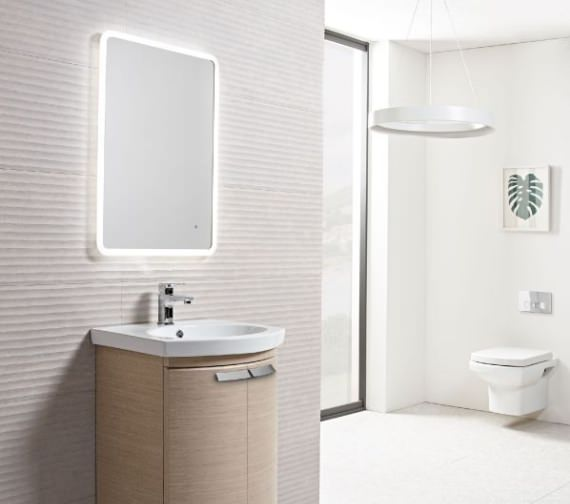 Tavistock Aster LED Illuminated Mirror 500mm Wide
