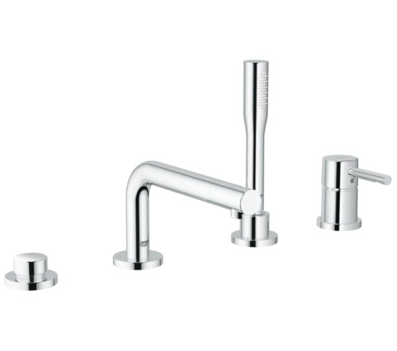 Grohe Essence Four Hole Single Lever Bath Tap