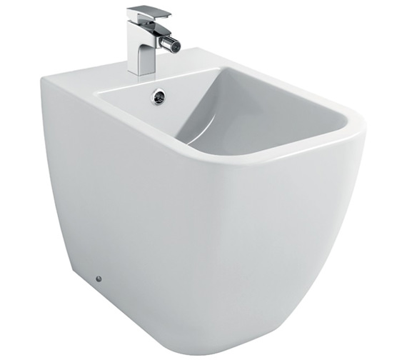 IMEX Essence 1 Tap Hole Floor Standing Bidet 520mm