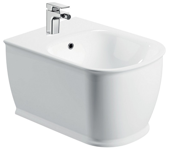 Pura Imex Liberty 1 Tap Hole Wall Hung Bidet 520mm