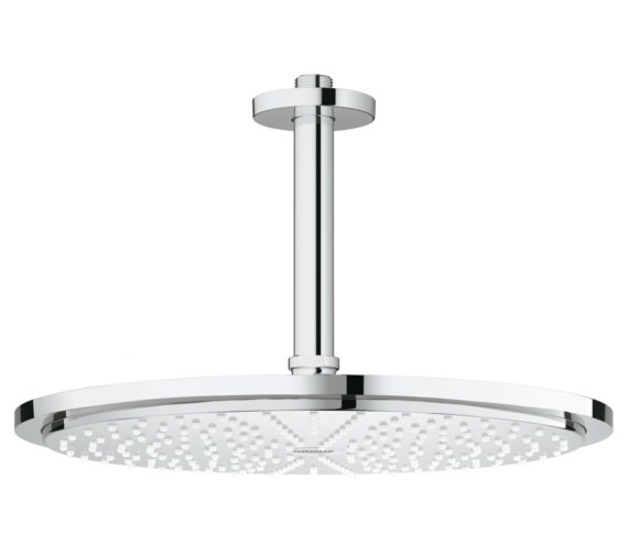 Grohe Rainshower Head Shower With Ceiling Mounted Arm