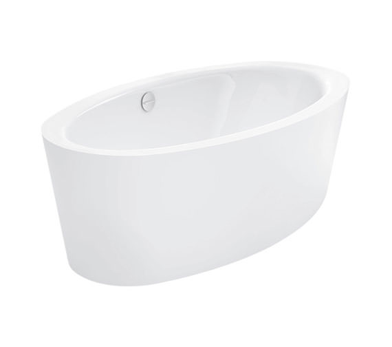 Bette Home Oval Silhouette 1800 x 1000mm Super Steel Bath