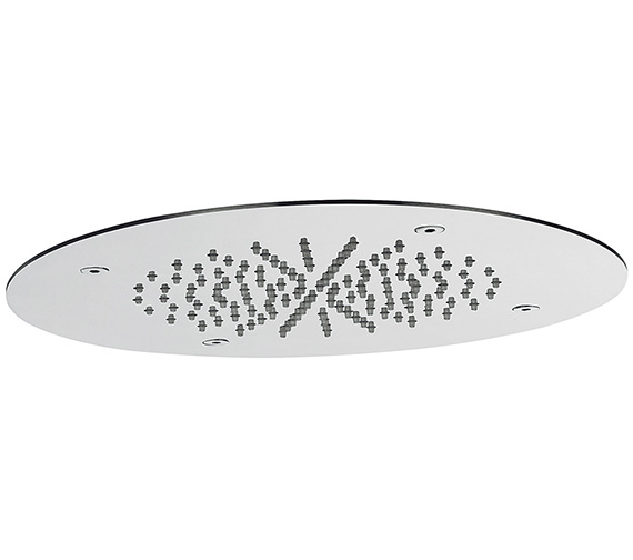 Crosswater Round 280mm Recessed Shower Head