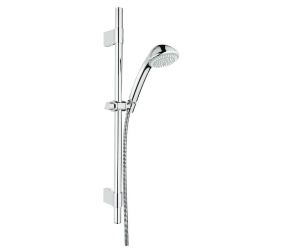 Grohe Relexa 100 Trio Shower Rail Set 3 Sprays