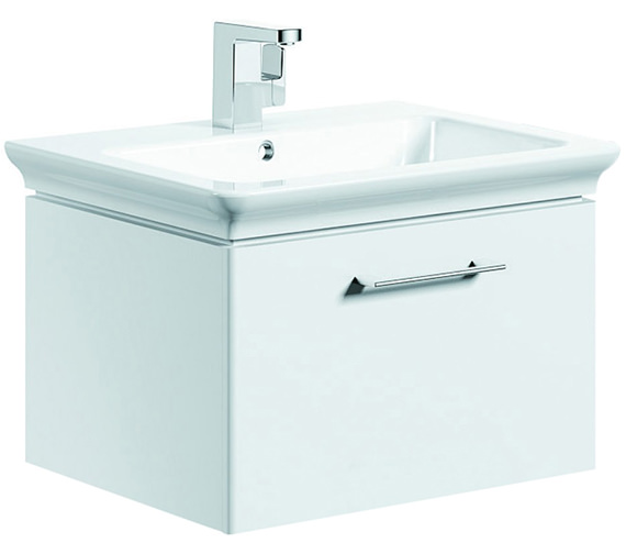 Pura Imex Essence 600mm Wall Hung Drawer Unit And Basin