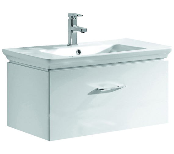 Pura Imex Essence 800mm Wall Hung Drawer Unit And Basin