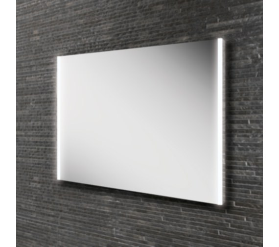 HIB Zircon 80 Landscape LED Bathroom Mirror 800 x 600mm