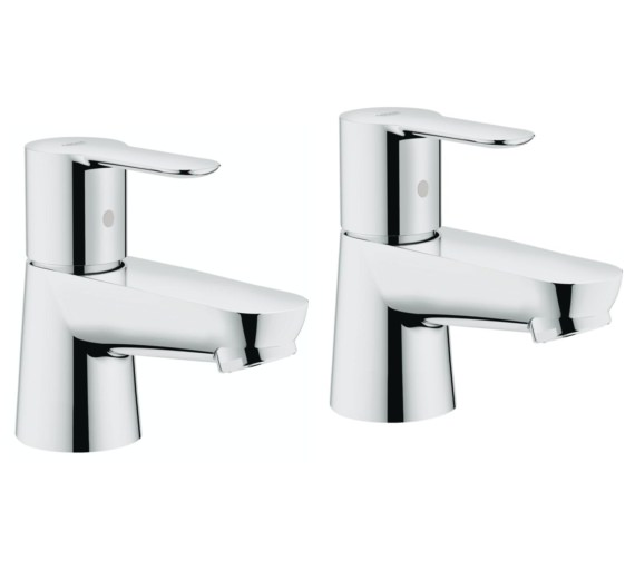 Grohe BauEdge Half Inch Pair Of Basin Taps