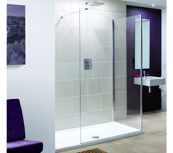 Lakes Coastline Marseilles 1400mm Walk In Shower Screen