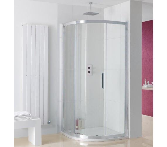 Lakes Coastline Sorong Single Door Quadrant Shower Enclosure 800mm