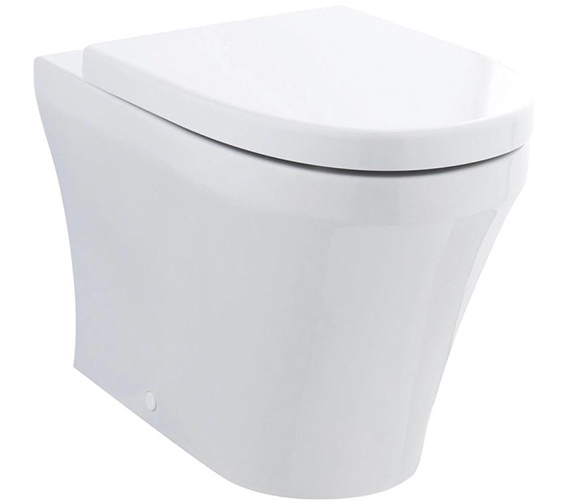 Premier Marlow Back-To-Wall WC Pan 555mm And Seat