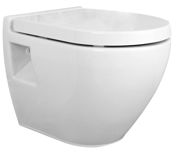 Nuie Premier Marlow Wall Hung WC Pan 510mm And Seat