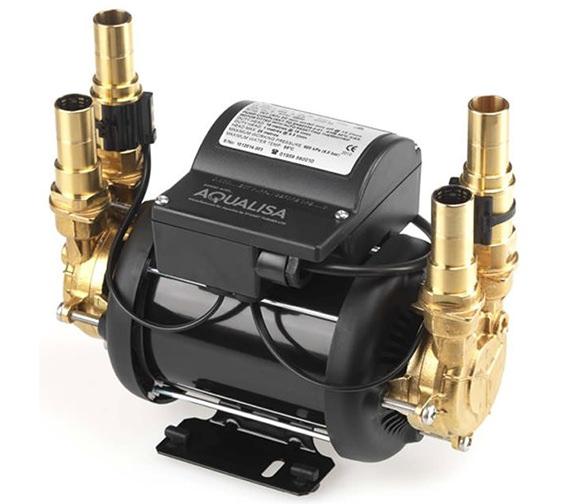 Aqualisa Mach 2.5 Bar Twin Ended Shower Pump