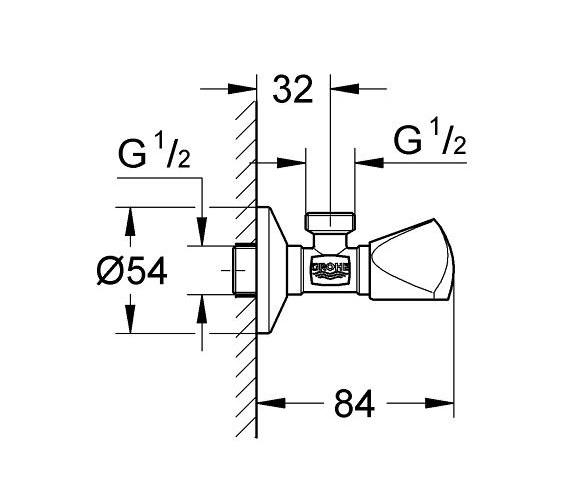 Technical drawing QS-V7889 / 22940000