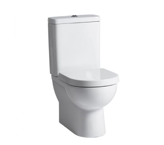 Tavistock Micra Close Coupled Back to Wall Pan With Cistern And Soft Close Seat