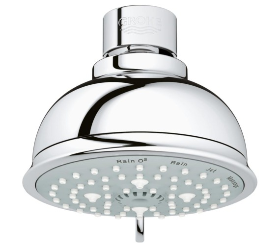Grohe New Tempesta Rustic 4 Spray Head Shower