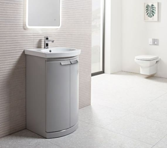Alternate image of Tavistock Tempo Freestanding Unit 500mm With Basin