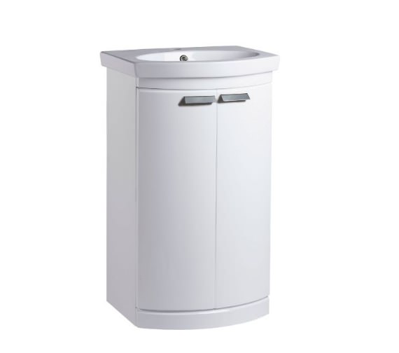 Tavistock Tempo Freestanding Unit 500mm With Basin