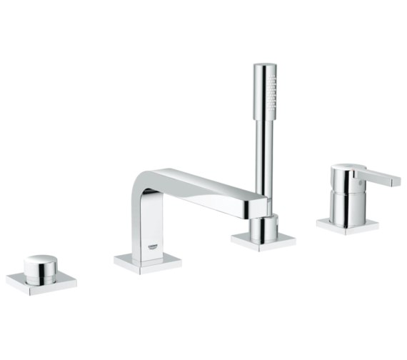 Grohe Lineare Four Hole Single Lever Bath Combination