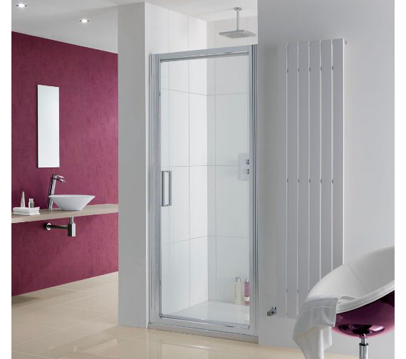 Lakes Coastline Narva Pivot Shower Door 700mm