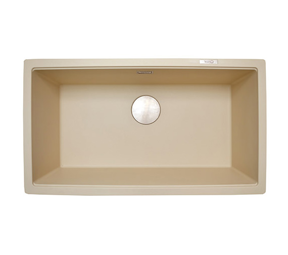 Alternate image of 1810 Company Purquartz Cavauno 720U 1.0 Bowl Undermount Sink White
