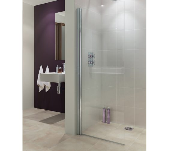 Lakes Coastline Alassio 700mm Hinged Walk-In Shower Screen