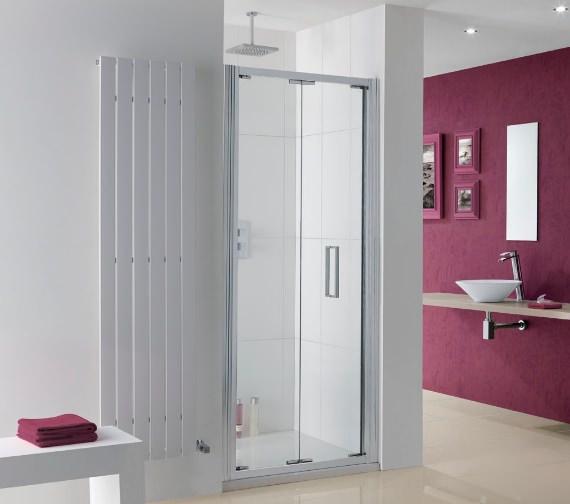 Lakes Coastline Bergen Bi-Fold Shower Door 900mm