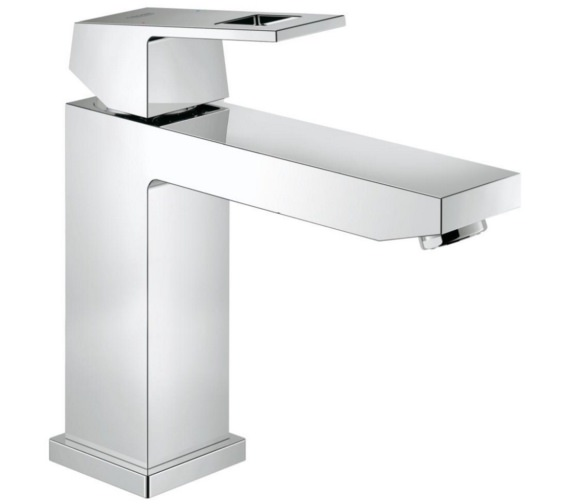 Grohe Eurocube Deck Mounted M-Size Half Inch Basin Mixer Tap